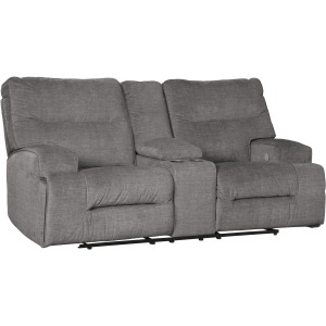 Coombs Power Reclining Loveseat with Console