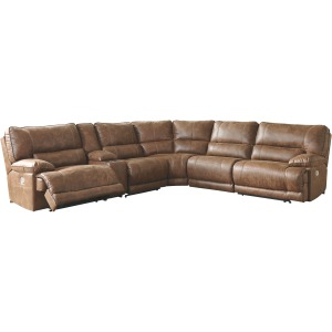 Thurles 6-Piece Reclining Sectional with Power