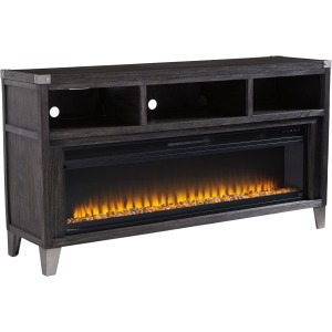 "Todoe 65"" TV Stand w/Fireplace Insert"