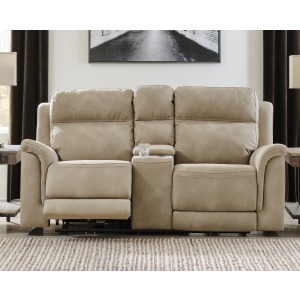 Next-Gen DuraPella Power Reclining Loveseat with Console