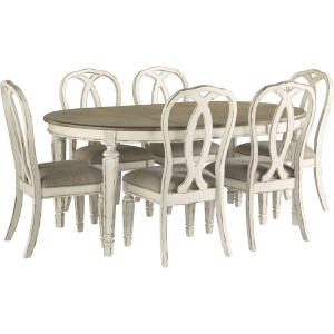 Realyn 7 PC Dining Set