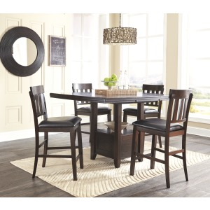 ASHLEY D596 5Pc CNTR DNG Set