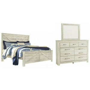 Bellaby 3 PC King Panel Bedroom Set