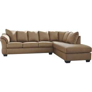 DARCY MOCHA CHAISE SECTIONAL