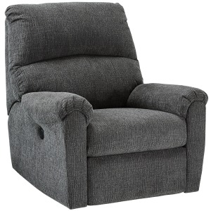 McTeer Power Wall-hugger Recliner in Charcoal