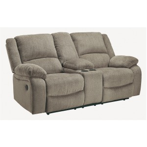 DRAYCOLL PEWTER RECLINING LOVESEAT