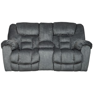 Capehorn Reclining Loveseat with Console