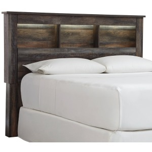 Drystan Queen Bookcase Headboard