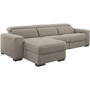 Mabton 3-Piece Reclining Sectional with Power
