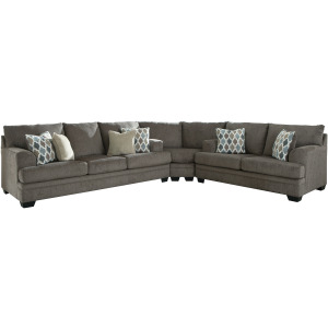 ASHLEY 77204 3Pc Sectional