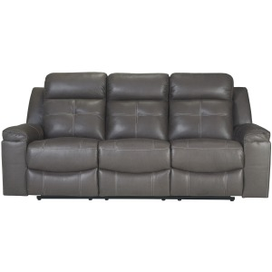 JESOLO GRAY RECLINING SOFA