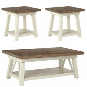 Stownbranner 3 PC Occasional Table Set