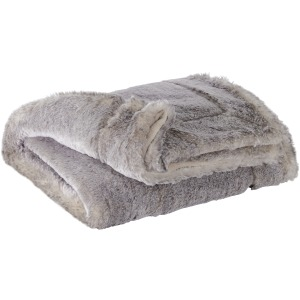 RAEGAN FAUX FUR THROW
