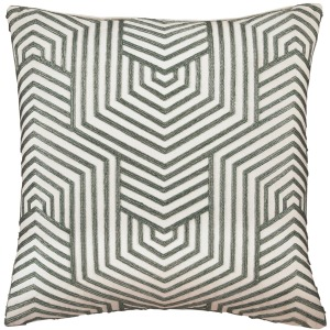 ADRIK GREEN ACCENT PILLOW