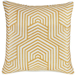 ADRIK GOLD ACCENT PILLOW
