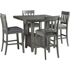 Hallanden 5 PC Counter Height Dining Set