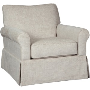 Searcy Swivel Glider Accent Chair