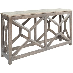 Lanzburg Sofa/Console Table