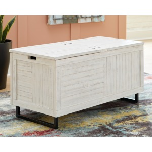 COLTPORT WHITE STORAGE TRUNK