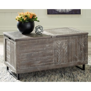 COLTPORT GRAY STORAGE TRUNK