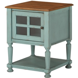 MIRIMYN TEAL ACCENT CABINET