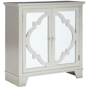 WYNCOTT CHAMPAGNE ACCENT CABINET