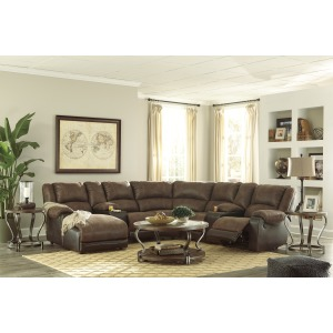 Nantahala 7-Piece Reclining Sectional with Chaise
