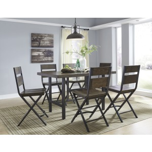Kavara 5PC Counter Height Dining Set