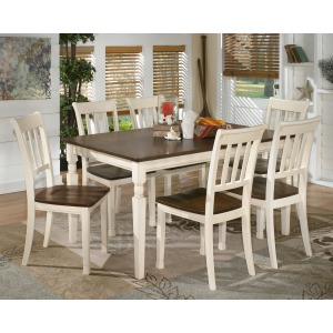 Whitesburg 7 PC Dining Room Set
