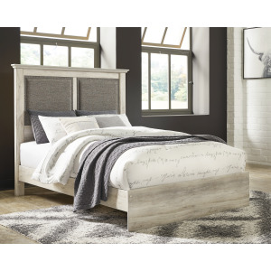 Cambeck Queen Upholstered Panel Bed