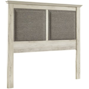 Cambeck King Upholstered Panel Headboard