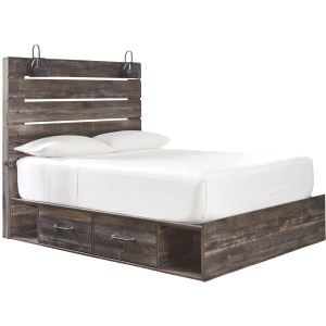 Drystan Queen Panel Bed with Storage