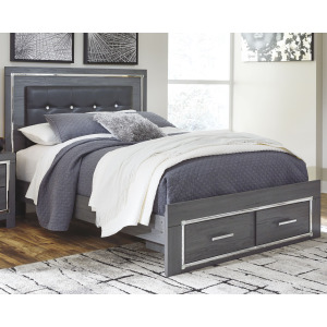 Lodanna Queen Panel Bed with Storage