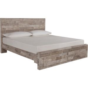 Effie King Panel Bed with Storage
