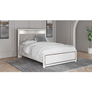 Altyra Queen/Full Upholstered Panel Headboard