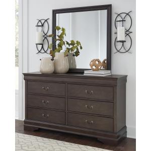 Leewarden Dresser and Mirror