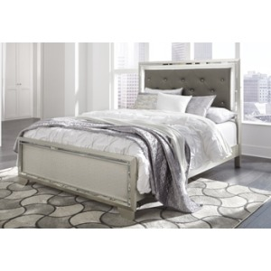 Lonnix Queen Upholstered Panel Headboard