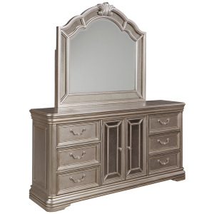 Birlanny Dresser and Mirror