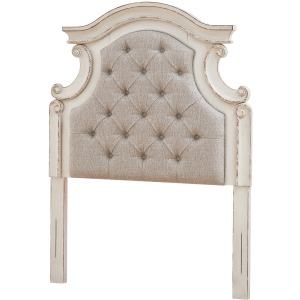 Realyn Twin Upholstered Panel Headboard