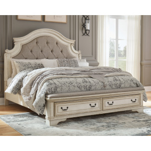 Realyn California King Upholstered Bed