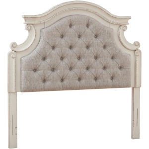 Realyn Full Upholstered Panel Headboard