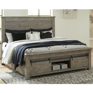 Brennagan California King Panel Bed with Storage