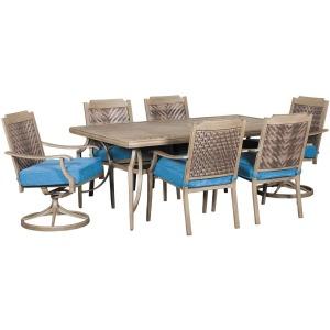 Partanna 7 PC Outdoor Dining Set