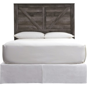 Wynnlow Queen Crossbuck Panel Headboard
