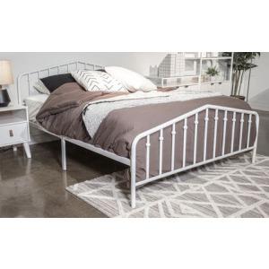 Trentlore Queen Metal Bed
