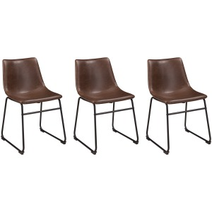 Centiar Dining Room Chairs (Set of 3)