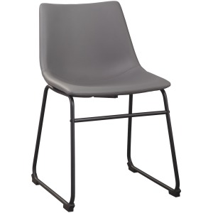 CENTIAR UPHOLSTERED CHAIR      GRAY