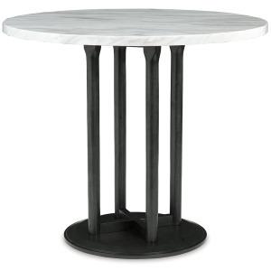CENTIAR ROUND COUNTERHEIGHT TABLE
