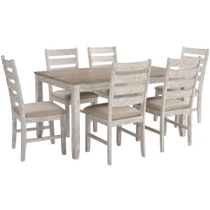 SKEMPTON TABLE AND 6 CHAIRS