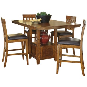 Ralene 5 PC Counter Height Dining Set
